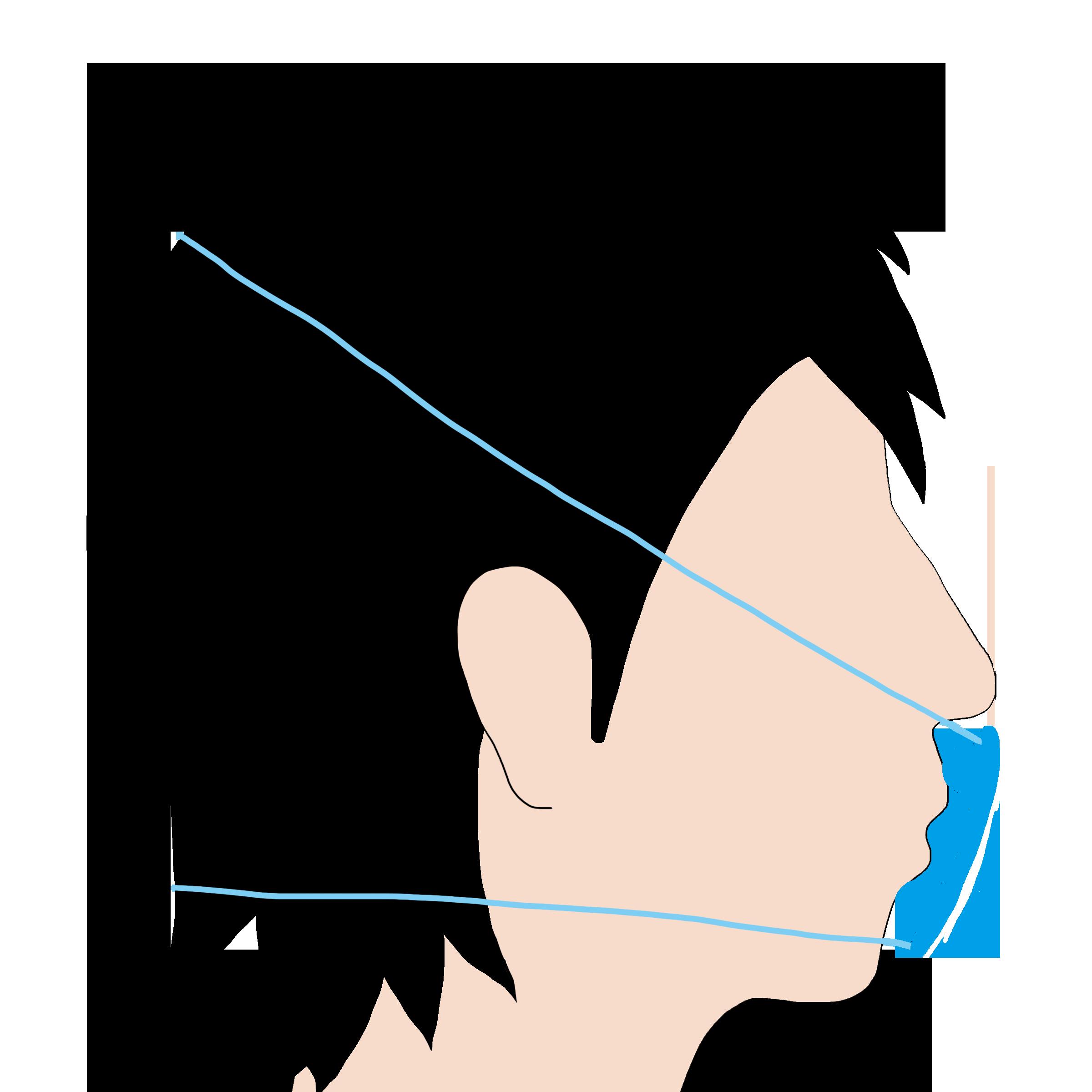 頭がけタイプのイムニタスマスク